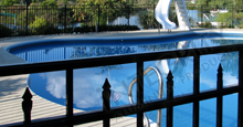 Sanibel Aluminum Pool Fence, One Of Eighteen Styles of Integrity Fencing