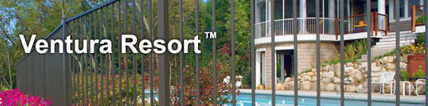 Ventura Ornamental Pool Fence
