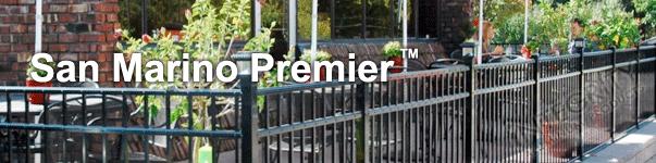 San Marino Ornamental Commercial Fence