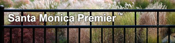 Santa Monica Ornamental Commercial Fence