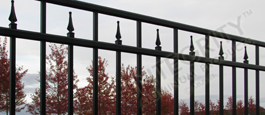 Residential Grade Excelsior Aluminum Panels of Fence