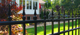 Decorative Finials Mission Point Residential Grade Aluminum Fencing