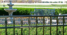 Camarillo Aluminum Residential Fencing with Decorative Butterfly Scrolls