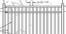 Downloads Available For All Eighteen Styles of Integrity Aluminum Fence Panels and Gates