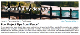 Online Tool to Help With The Ordering and Installation of Aluminum Pool Fence