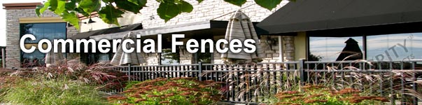 Providence Commerical Grade  Perimeter Aluminum Fence Panel