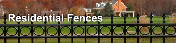 Providence Residential Grade Perimeter Aluminum Fence Panel